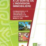 Brochure sur l'aide à la sortie de l'indivision