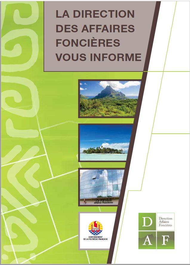 Brochure sur la DAF