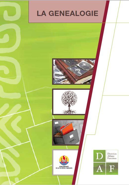 Brochure sur la généalogie