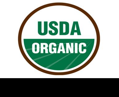 """Logo de la certification """"produit issus de l'agriculture biologique"""" des état-unie d'amérique."""