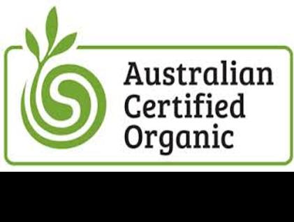 """Logo de la certification """"produit issus de l'agriculture biologique"""" d'australie."""