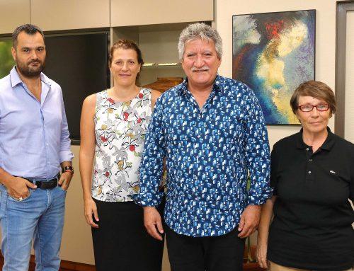 Le ministre du numérique reçoit l'association Fablab Ecolab Tahiti