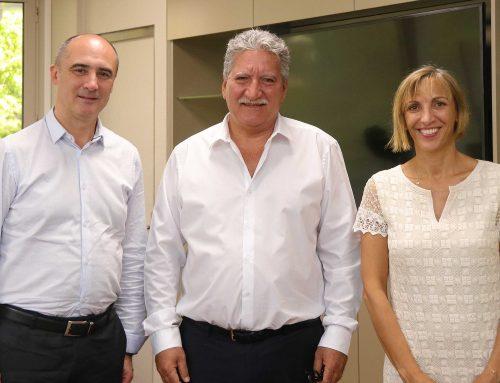 Jean-Christophe Bouissou s'entretient avec le PDG d'Ericsson France
