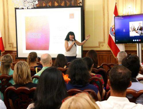 Cérémonie d'ouverture de la formation animée par des intervenants de l'École Nationale d'Administration