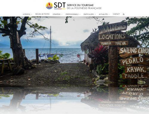 Refonte du site internet du service du tourisme