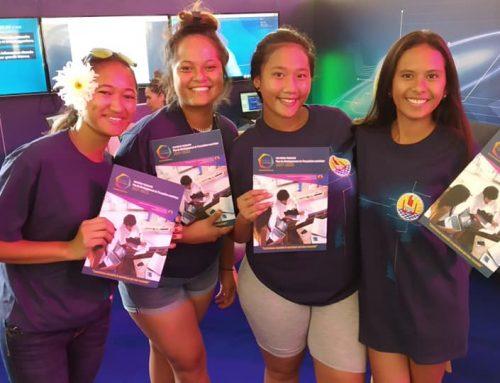 Digital Festival Tahiti – Sur le stand du Pays