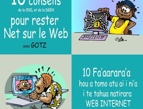 TNTV : Campagne de sensibilisation sur le bon usage d'Internet avec la DGEN et la CNIL