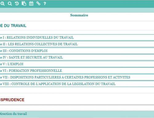 Application Ti'arama : mise en ligne sur internet du code du travail