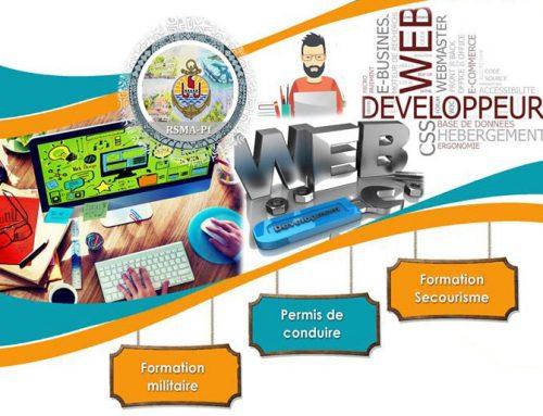 Job dating au profit de la filière « Développeur Web » du RSMA le 28 janvier 2020