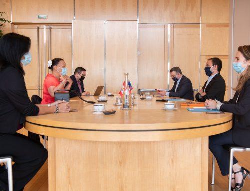 Christelle Lehartel rencontre Cédric O, Secrétaire d'État chargé de la transition numérique