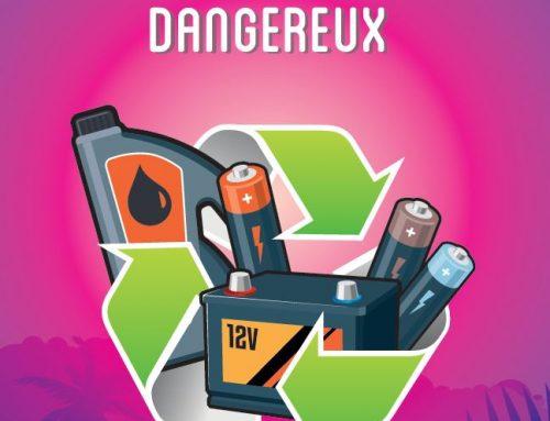 Le nouveau dépliant dédié aux déchets dangereux