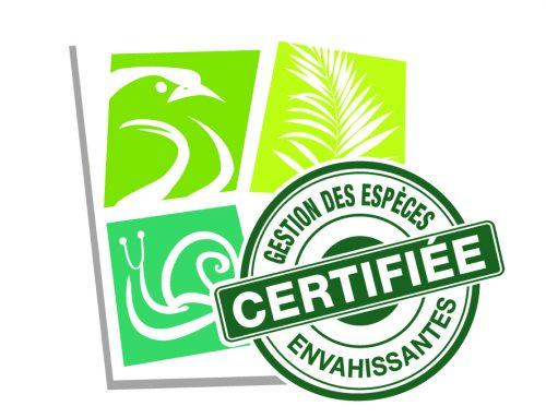 """Certification """"entreprise protégeant la biodisversité"""""""