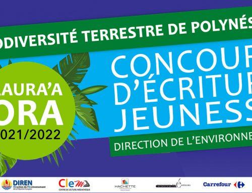 Coucours biodiversité terrestre de Polynésie française