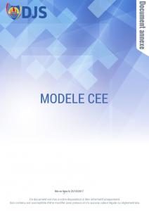 modèle CEE
