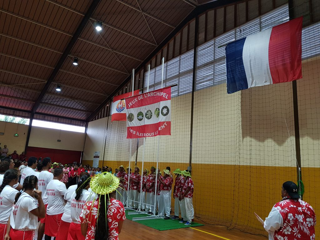 Levée de drapeau