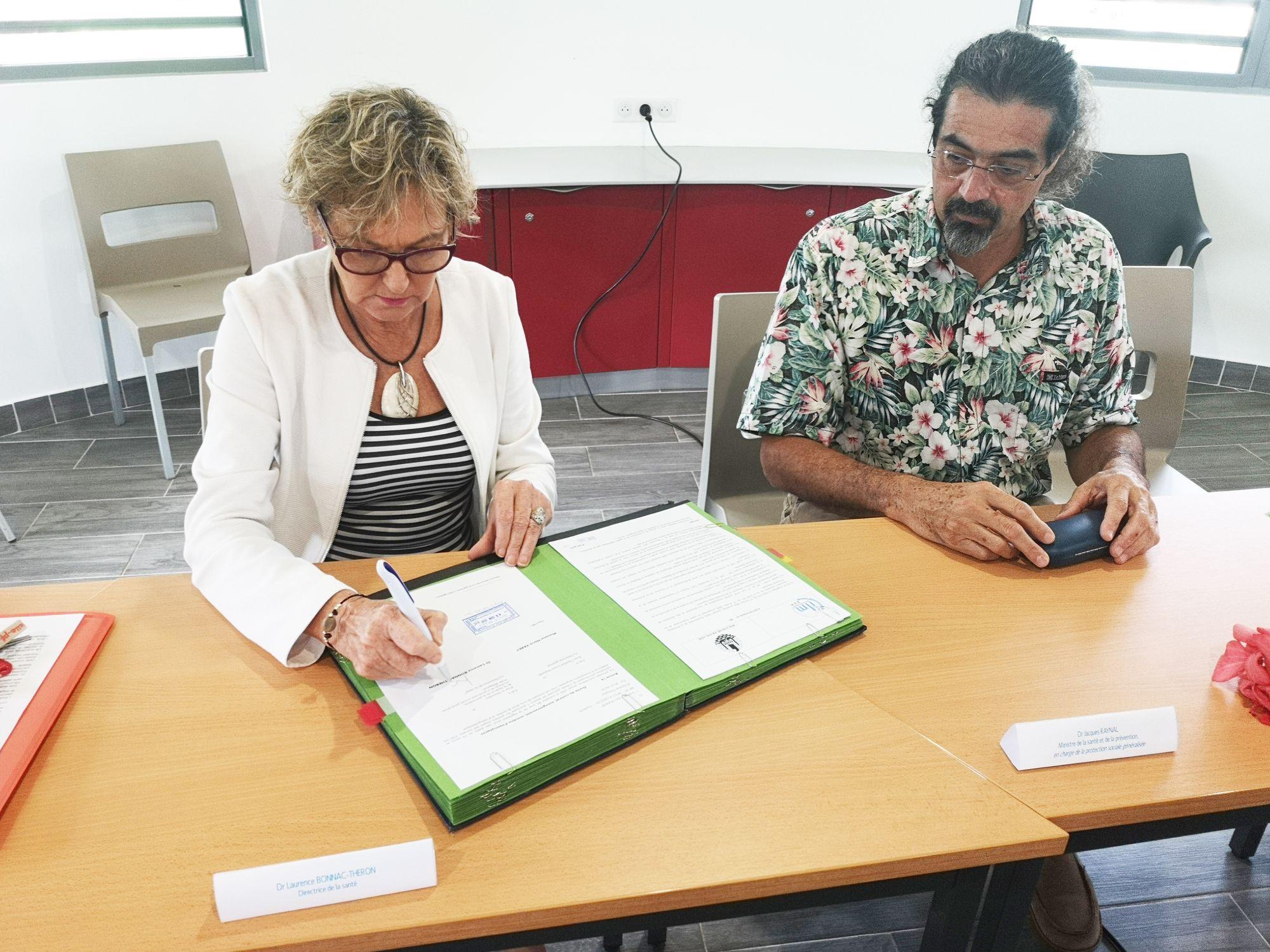 Signature de la convention de collaboration de l'enquête STEPWISE 2019