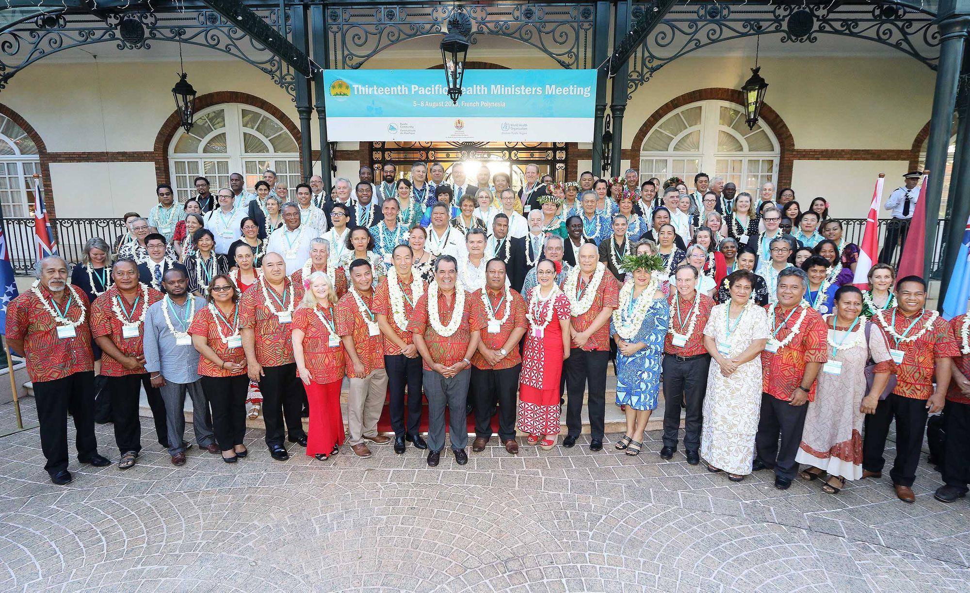 13e Réunion des ministres de la Santé du Pacifique