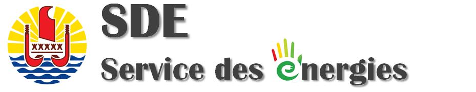 Service des énergies Logo
