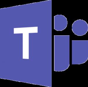 Logo Microsoft Teams + lien vers https://products.office.com/fr-fr/microsoft-teams
