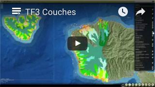 Tutoriel vidéo illustrant les couches d'information géographique dans Te Fenu@ (0:52)