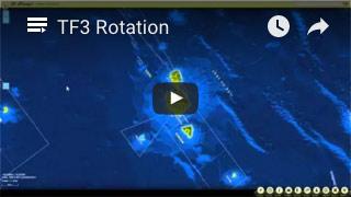 Tutoriel vidéo illustrant la possibilité de faire tourner la carte de Te Fenu@ (0:31)